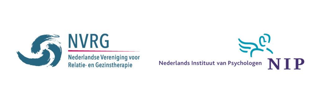 Aangesloten bij de Nederlandse Vereniging voor Relatie- en Gezinstherapie, het Nederlands Instituut van Psychologen en de Nederlandse vereniging gezondheidszorgpsychologen